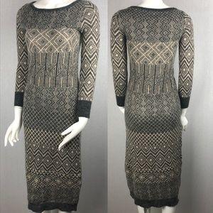 Sparrow Anthropologie Multiburst Sweater Dress